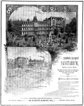 "Advertisement for Kellog's ""Sanitarium"""